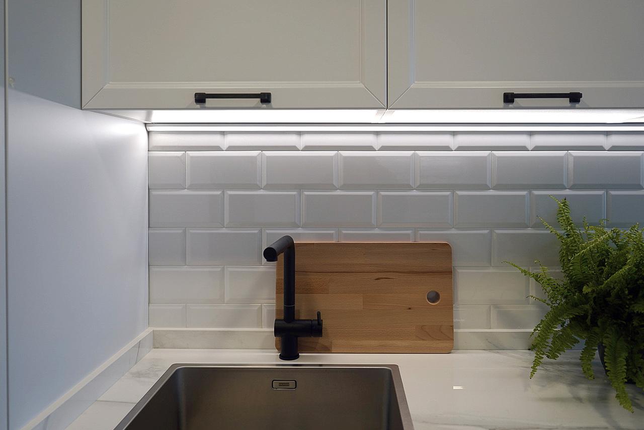 Barra de cocina movible